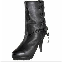 Mee Too Leather Peony Boot Gorgeous, sexy rich soft leather Peony boot by Mee Too, rugged bottom, heel has minimal wear, nothing that cannot be repaired. A MUST HAVE! Me Too Shoes Heeled Boots