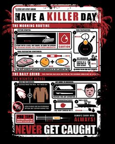 How to Have a Killer Day | $10 Dexter tee from ShirtPunch today only!
