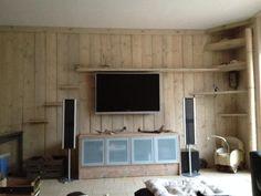 Wand met steigerhout bekleden slaapkamer ideeen pinterest google search and met - Slaapkamer hout ...
