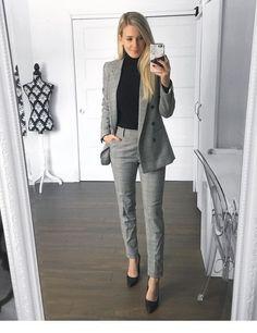 40 atuendos de trabajo de moda y trajes de oficina para mujeres de negocios Ropa de trabajo elegante para un aspecto profesional