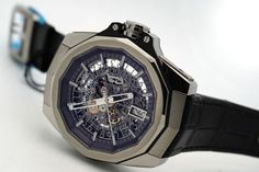Corum Admiral's Cup AC-ONE 45 Squelette 082.401.04/0F01 FH10 skeleton Dial  #Corum #LuxuryDressStyles