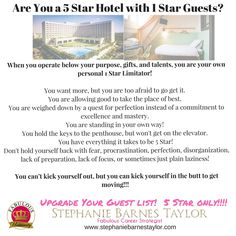 Check yourself out...then upgrade your stay! fabulousuniversity #5Star
