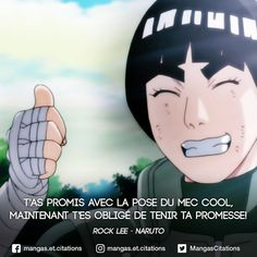 You promised with the pose of the cool man now it's a must to maintain your promise RockLee Naruto quotation Rock Lee, Lee Naruto, Naruto Shippuden, Boruto, Triste Naruto, Citation Style, Manga Anime, Otaku, Be Like Meme