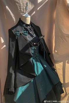 Pretty Outfits, Pretty Dresses, Beautiful Outfits, Old Fashion Dresses, Fashion Outfits, Fashion Boots, Moda Lolita, Mode Ulzzang, Mode Kpop