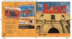 The Alamo CD booklet spread. Client: Silva Screen Records. Circa 2004. © Sean Mowle.