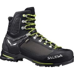 Salewa Raven 2 GTX Mountaineering Boot BlackMonster 10 M US ** Continue to the product at the image link. (This is an affiliate link) Men Hiking, Hiking Pants, Hiking Gear, Backpacking Boots, Summer Hiking Outfit, Mountaineering Boots, Best Hiking Shoes, Trekking Shoes, Mens Winter Boots