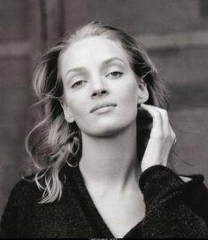 Uma Thurman photographed by Annie Leibovitz for Vanity Fair January 1996