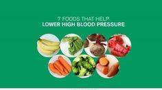 7 Foods That Help Lower High Blood Pressure