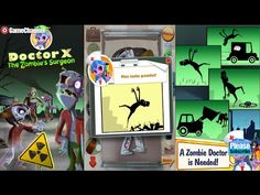 Doctor X Zombies Surgeon Videos Games For Kids