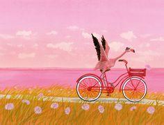 Illustration door Martijn van der Linden, uit 'Mama lief, alsjeblieft'