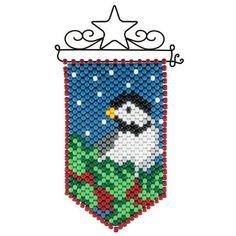 Herrschners® Chickadee Mini Beaded Banner & Hanger Kit