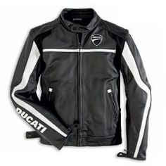 Men's Ducati Twin jacket.  Also available in Ducati Red.