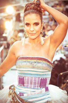 Brazilian singer: Ivete Sangalo