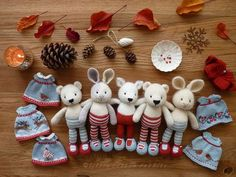 Mesmerizing Crochet an Amigurumi Rabbit Ideas. Lovely Crochet an Amigurumi Rabbit Ideas. Knitted Bunnies, Knitted Animals, Knitted Dolls, Crochet Dolls, Crochet Cats, Crochet Birds, Knitted Baby, Mini Amigurumi, Crochet Amigurumi