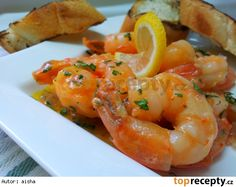 Pikantni krevety v kokosovem kremu Crab Dishes, Shrimp, Seafood, Meat, Pizza, Website, Life, Bulgur, Food Food
