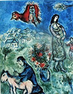 marc chagall romeo and juliet | Sorry, auction ended. Shop available items: