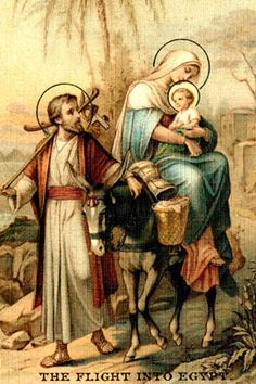 "St. Joseph - Prayer : ""Gracious St. Joseph, protect me and my family from all evil as you did the Holy Family. Kindly keep us ever united in the love of Christ, ever fervent in the imitation of the virtue of our Blessed Lady, your sinless spouse, and always faithful in devotion to you. Amen"""