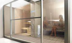 Sauna / Dampfbad LOGICA TWIN - EFFEGIBI