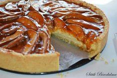 Caramel Pears, Caramel Pie, Fruit Recipes, Cake Recipes, Cheese Pies, Creative Cakes, Cake Cookies, No Bake Cake, Food To Make
