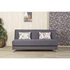 The Eco Plus Sofabed with six colors to choose from is the ultimate functional sofa. It turns from a sofa in to a bed with complete ease, and has storage compartment built in. It is perfect for your limited space where you need an extra bed and storage.