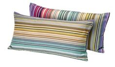 Claremont Cushion  Contemporary, Upholstery  Fabric, Pillow by Missoni Home