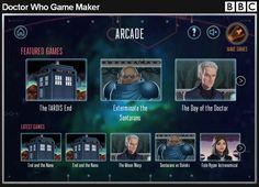 Doctor Who Game Maker Digital Awards 2016