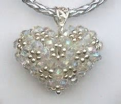 Free Puffy Heart Pendant Instructions に対する画像結果