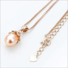 Rakuten: Necklace Cem Kelly fresh water pearl (pink) necklace pendant -necklace-- Shopping Japanese products from Japan