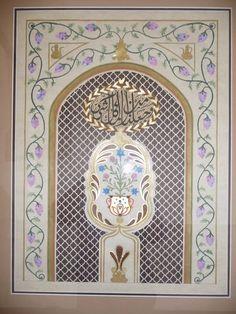 1 Mughal Architecture, Tiles, Miniatures, Mirror, Home Decor, Room Tiles, Decoration Home, Room Decor, Tile