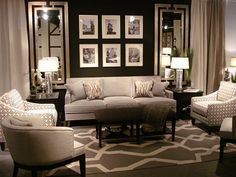 Awesome Accent Chair Ideas For Beautiful Living Room Furniture, Dark Living Rooms, Room Design, Home N Decor, Home Decor, House Interior, Interior Design, Home And Living, Living Room Designs