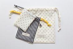 DIY Bag : DIY Cute Drawstring Bag