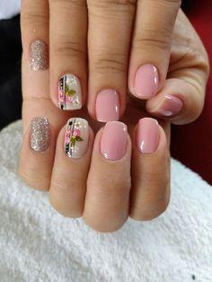 Spring Nail Trends, Spring Nail Colors, Spring Nail Art, Spring Nails, Acrylic Nail Designs Glitter, Long Acrylic Nails, Glitter Nail Art, Short Nail Designs, Nail Designs Spring