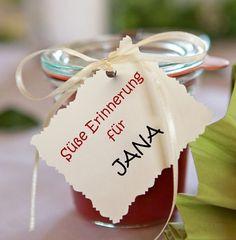 Ideen für Tischkarten Hochzeit