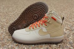 "Nike Air Force 1 Duckboot ""Grain"" #sneakers #kicks"