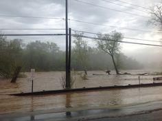 Pictures: Flooding Rappahannock roars through Fredericksburg (River road)