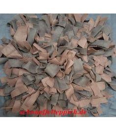 Schnüffelteppich schwarz/braun