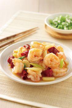 Stir-fried Prawns | Taiwanese food #recipe in Chinese
