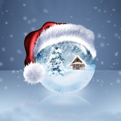Fantastic HD wallpaper from celebration category and Merry Christmas selection. This wallpaper is about Xmas, Ball, Christmas, Celebration. Christmas Scenes, Noel Christmas, Christmas Pictures, Christmas Greetings, Merry Christmas Wallpaper, Merry Xmas, Illustration Noel, Winter Wallpaper, Wallpaper Desktop