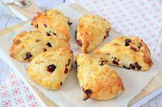 Cranberry-amandel scones - Laura's Bakery