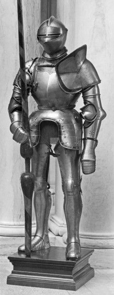 Armor and Lance for Fighting on Horseback