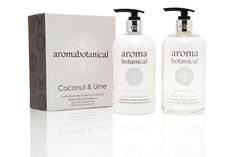 Coconut & Lime Bath & Body Duo #aromabotanical