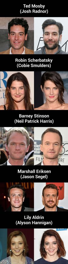 """The Cast Of """"How I Met Your Mother,"""" Then Vs. Now"""