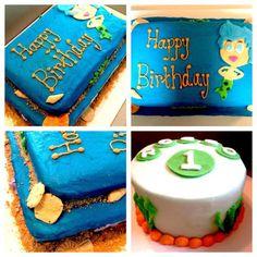 Bubbly Guppy Cake