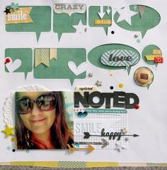 Nicole Nowosad - love the speech bubbles with stiching