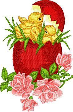brother embroidery designs download | Free Easter embroidery -digitizer Igor Denisov