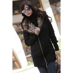 USD8.99Korean Fashion Long Sleeve Long Cardigan Black Sweater
