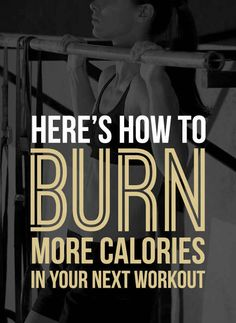 13 Things You Should Know About Burning Calories When You Work Out