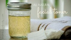 This all natural facial toner is so simple and SO effective. Gotta try it.