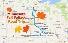 This Dreamy Road Trip Will Take You To The Best Fall Foliage In All Of Minnesota