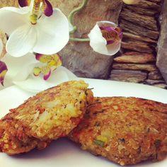 Tortitas de quinoa c/verduritas y más sorpresas ;)   Sisy Garza